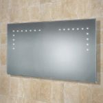 Hib Aaron LED illuminated Bathroom Mirror